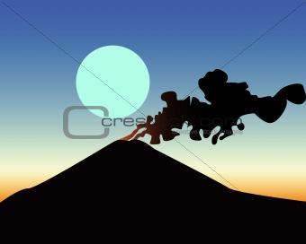 awakened volcano