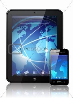 Vector digital tablet
