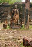 The Statue of Ancient Polonnaruwa
