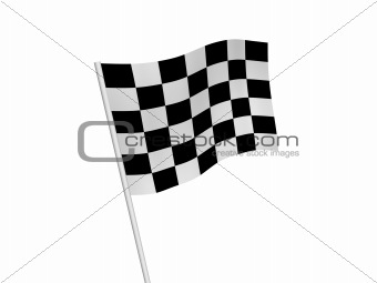 checked flag
