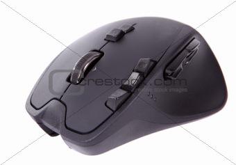 black laser computer mouse