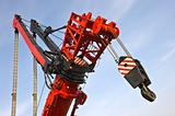 Detail of the worlds largest mobile crane