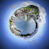 Small world sphere