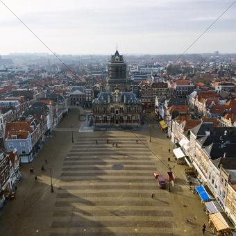 Delft Market square