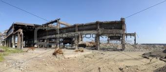Factory in ruins