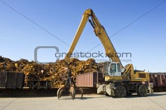 Scrap Heap Crane
