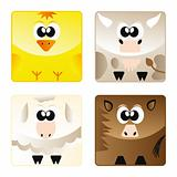 Home animals - set icon 2