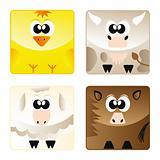 Home animals - set icon 2