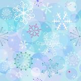 Seamless winter wallpaper