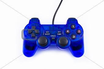 Blue joystick
