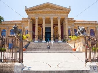 Teatro Massimo - opera house in Palermo, Sicily