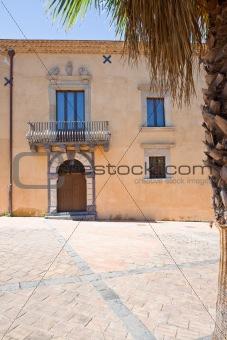 Palazzo Cagnone in Francavilla di sicilia