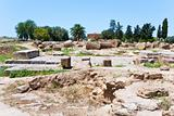 ruins of antique Greek Temple