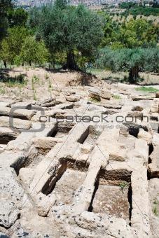 antique roman Tombs