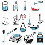 Laboratory Icons