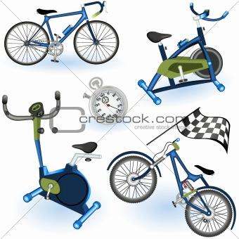 Sport equipment icons 2