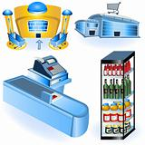 Supermarket icons 2
