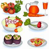 Vegetarian food 1