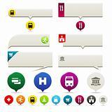Flat Web Pin Point Elements