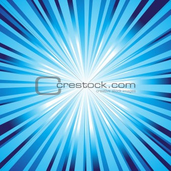 Background blue star