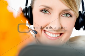 call center friendly operator