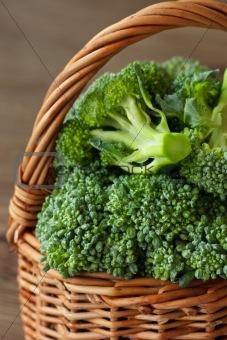 Broccoli close-up.