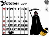 October calendar