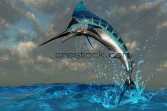 Blue Marlin Splash