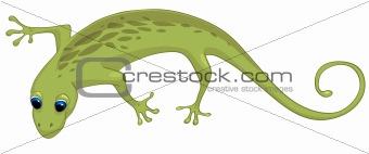 Cartoons_0046_Lizard_Vector