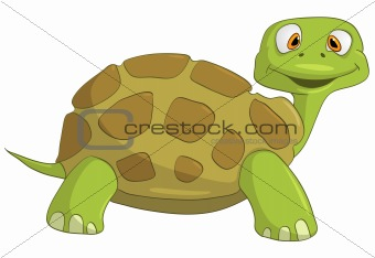 Cartoons_0086_Turtle_Vector