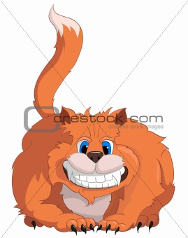 Cartoons_0012_Cat_Vector_