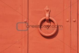 Circle doorhandle