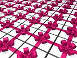 3d pink gift