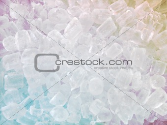 abstract ice cube background