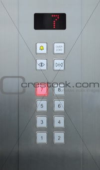 7 floor on elevator buttons