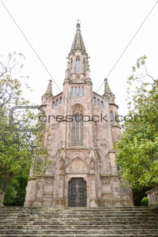 church in Comillas