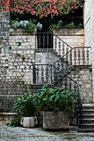 stairway in kotor montenegro