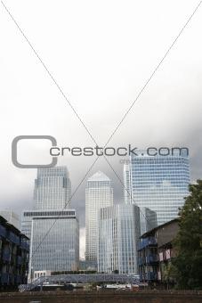 Canary Wharf  Skyline