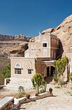 traditional yemeni house near sanaa yemen