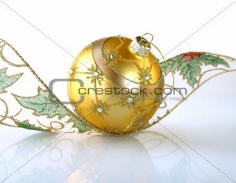 Gold  ball.