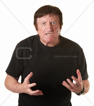 Annoyed Man