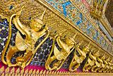 Art Thai style in temple.