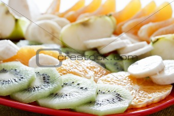 Kiwi and fruits
