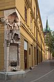monument in Presov