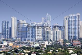 fort bonifacio skyscrapers manila