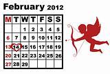 February calendar 2012