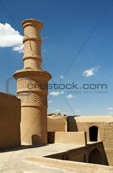 old village mosque in near yazd iran