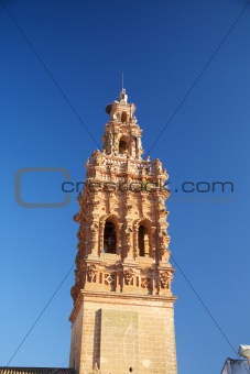 ceramics belfry of Jerez