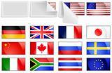 International transfer flags