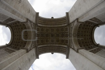 Arc de Triomphe (Fish-eye view)